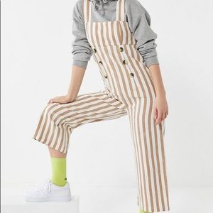 NWT! Urban Outfitters Murphy Striped Jumpsuit